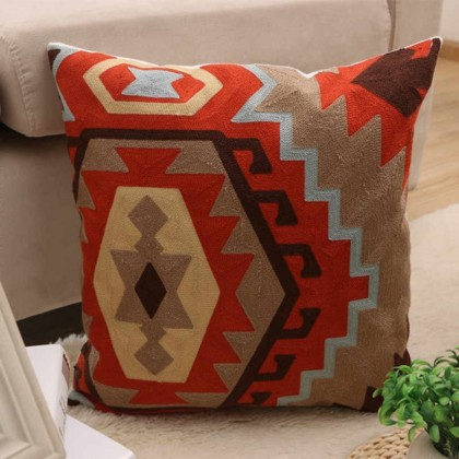 Bohemian Embroidered Pillow Case (P1)