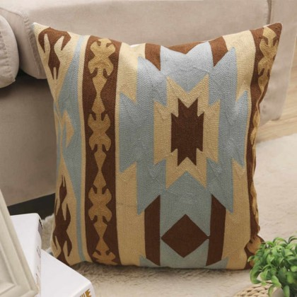Bohemian Embroidered Pillow Case (P2)