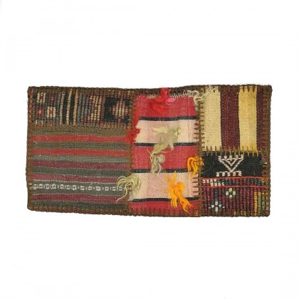 W30L60PPC1 Anatolian Kilim Patchwork Pillowcase
