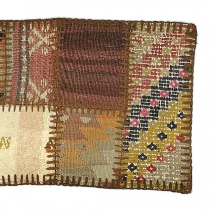 W30L60PPC7  Anatolian Kilim Patchwork Pillowcase
