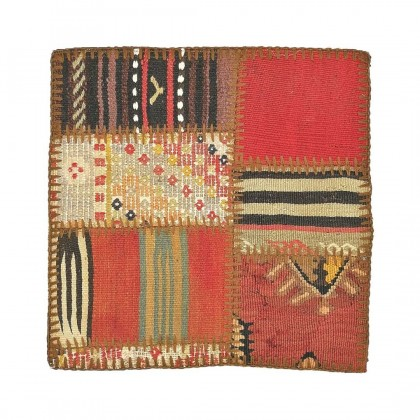 W45L45PPC24 Anatolian Kilim Patchwork Pillowcase