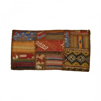 W30L60PPC50 Anatolian Kilim Patchwork Pillowcase